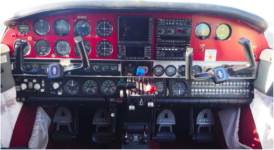 1973 Piper Seneca I Aircraft