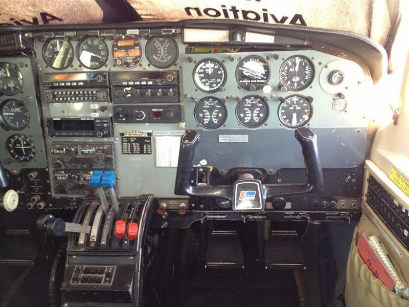 1981 Piper Navajo C Aircraft
