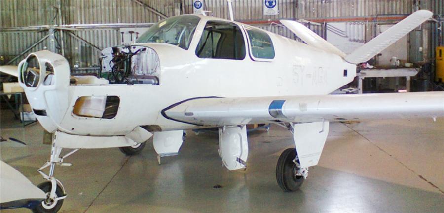 1954 Beechcraft Bonanza E35 V Tail