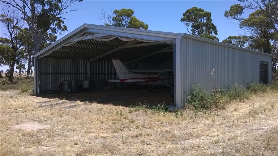 Property - House, Hangar and Airstrip - WA
