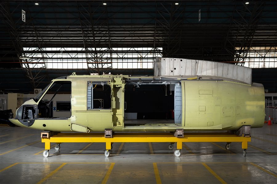 2014 Sikorsky Black Hawk Shell