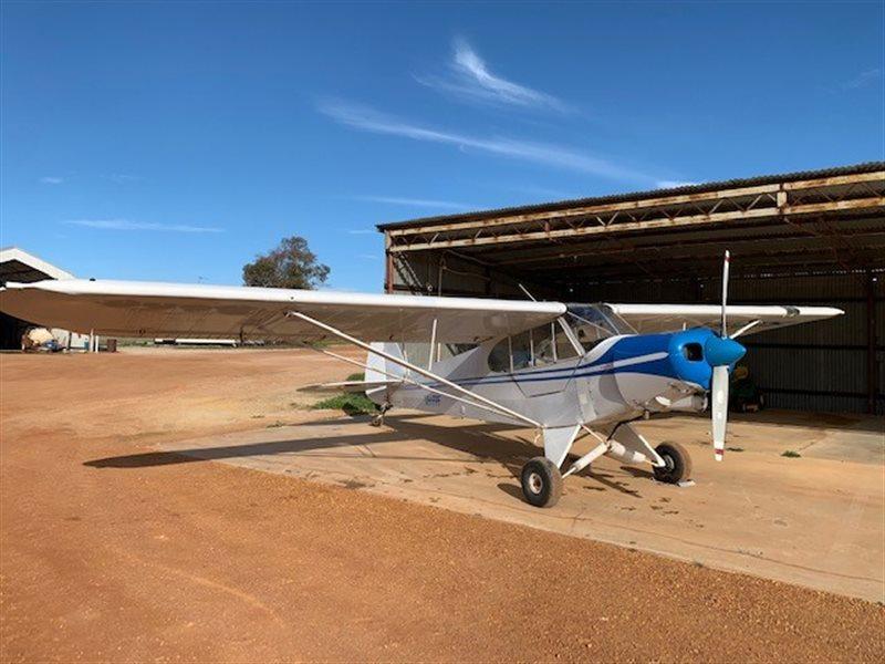 1977 Piper Cub Aircraft
