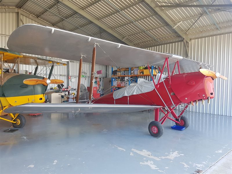 1960 De Havilland Tiger Moth Aircraft
