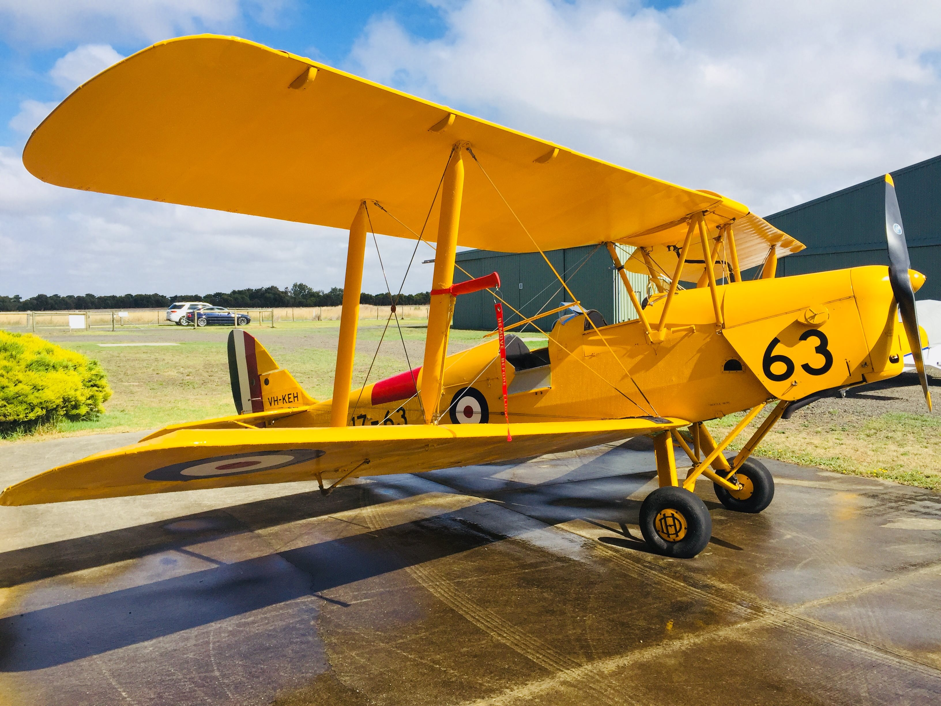 1940 De Havilland DH82A Tiger Moth