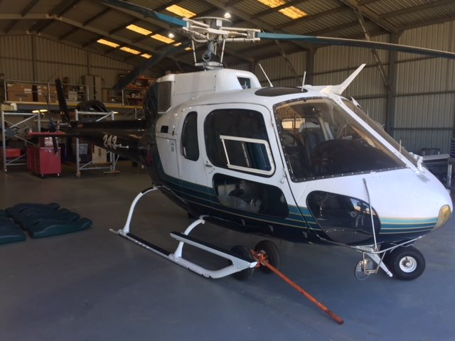 1979 Eurocopter AS 350D SOLOY C30S