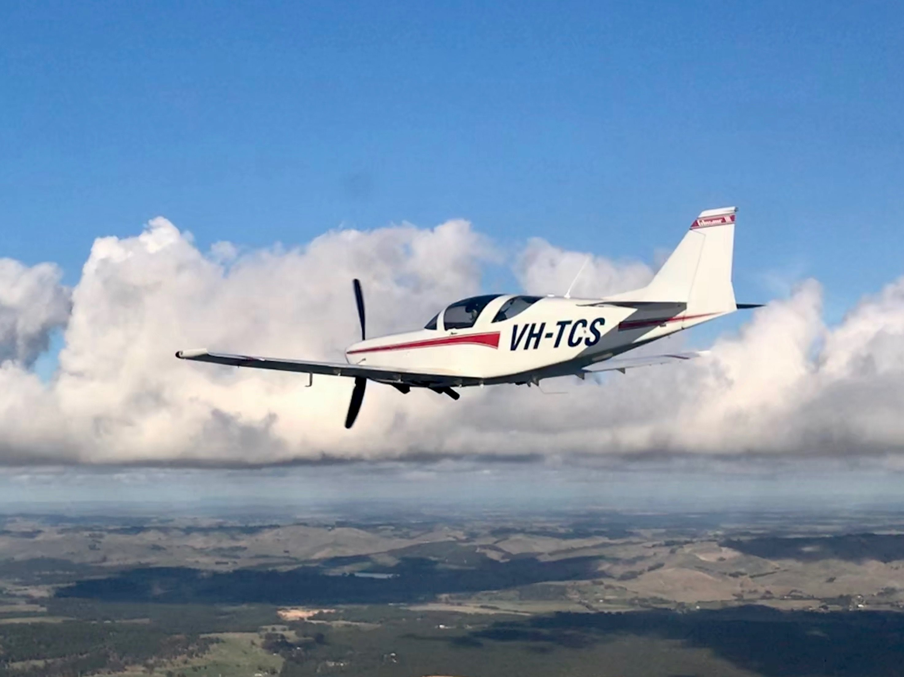 VH-TCS Glasair 3 Super Turbo