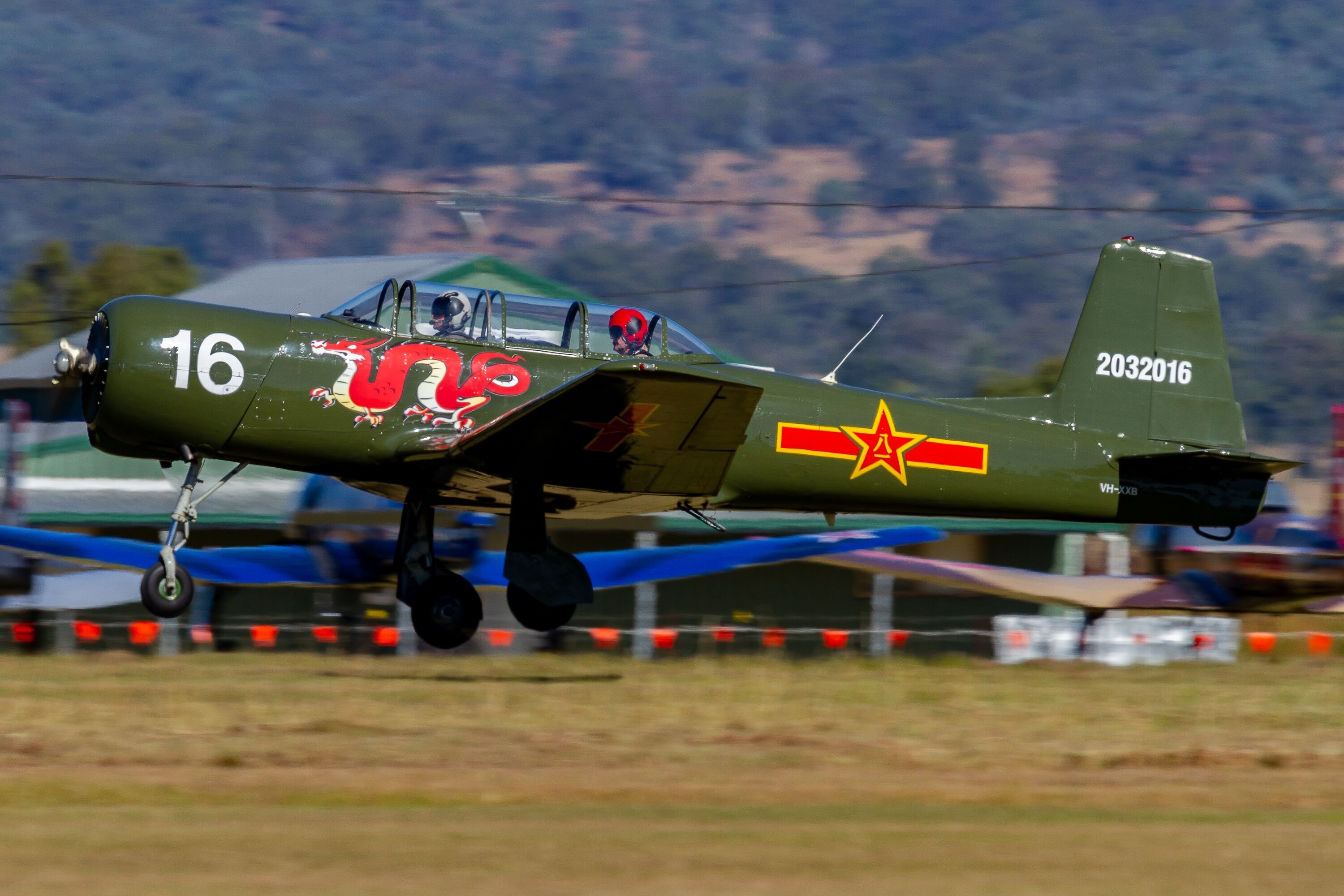 1967 Nanchang CJ-6 Aircraft