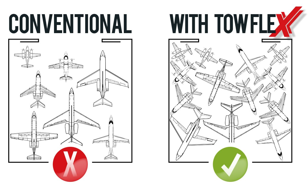 With and Without TowFLEXX