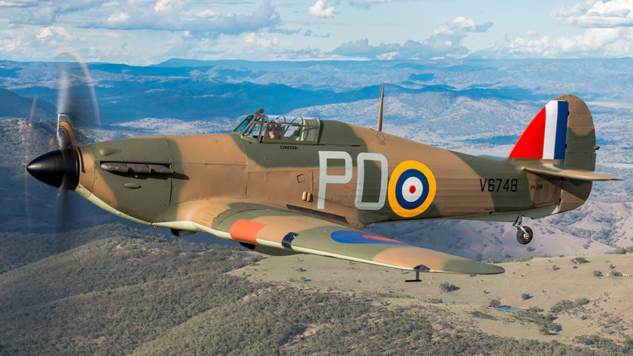 1942 Hawker Hurricane Aircraft