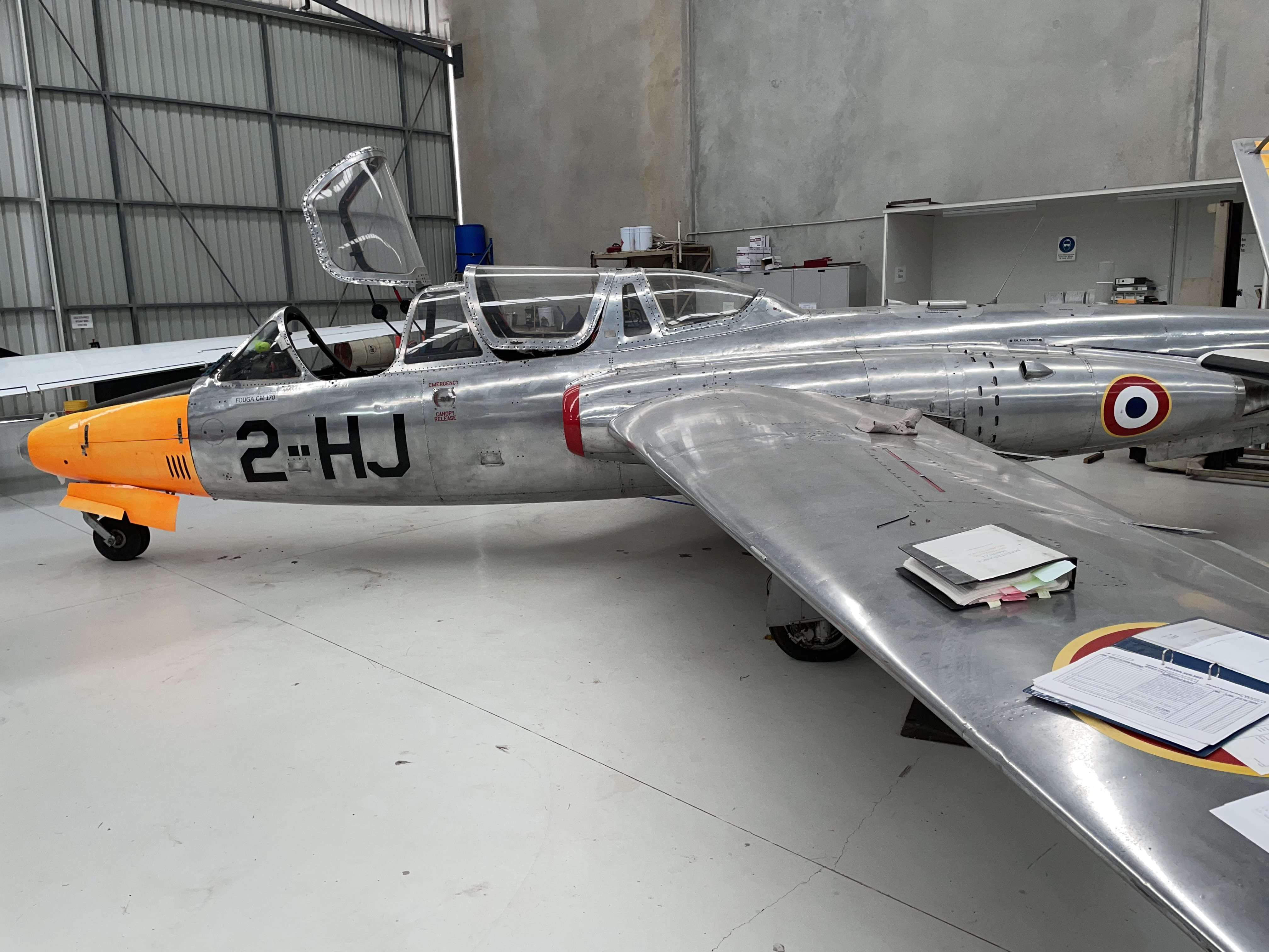 1963 Fought magistair c170
