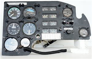 Avionics  - Piper PA23-250 Aztec Co-Pilot Instrument Panel