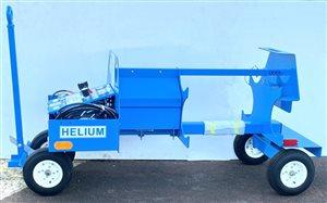 Ground Support Equipment - Tronair NitrogenHelium Bottle Booster Cart