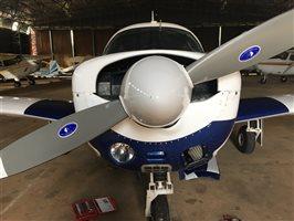 LASAR cowel fairing modification 1975 Mooney Mark 20F Executive