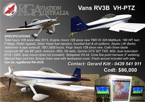 2013 Vans RV4 RV3B