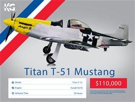 2016 Titan T-51D Aircraft