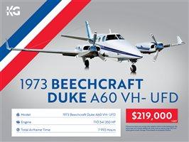 1973 Beechcraft Duke 60 Duke A60