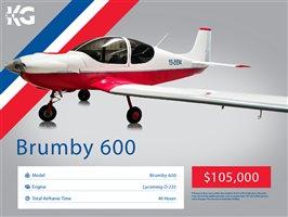 2020 Brumby 600 Aircraft