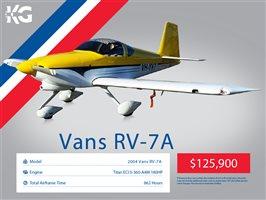 2004 Vans RV7 A