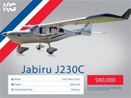 2007 Jabiru J230 Aircraft