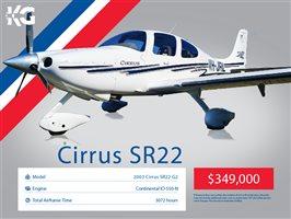 2003 Cirrus SR22 Aircraft