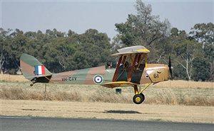 November 2011 arriving at Temora Warbirds
