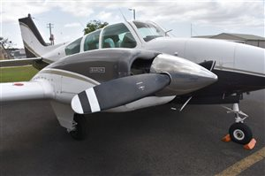 1964 Beechcraft Baron 55 Aircraft