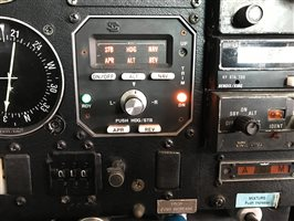 Avionics  - Mooney S-TEC 50 Autopilot system with altitude hold