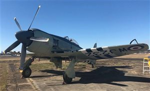 1953 Hawker Sea Fury MKII