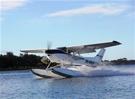 1976 Cessna 102P  on EDO 2960 floats