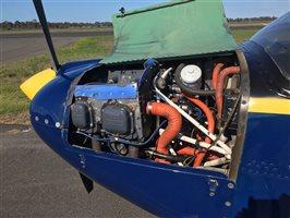 Piper Tomahawk PA38-125 engine