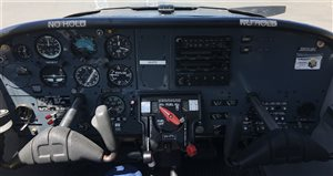1979 Piper Tomahawk PA38-125 VH-FTI instrument panel