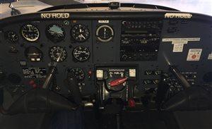 1982 Piper Tomahawk PA38-125 VH-TLA instrument panel