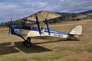 1962 De Havilland Tiger Moth Aircraft