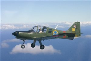 1971 Scottish Aviation Bulldog Aircraft