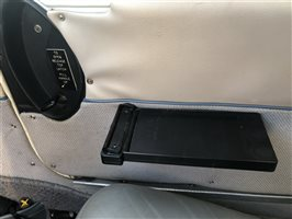 Co Pilot  iPad back up device - magnetic clipboard - armrest