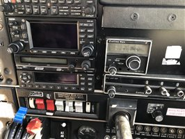 Garmin Stack with second collins ILS