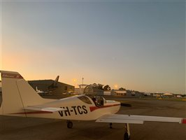 Sunset Glasair 3 Super Turbo VH-TCS