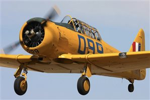 1943 North American T6 Harvard Aircraft