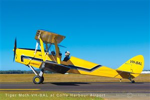 1939 De Havilland Tiger Moth Aircraft