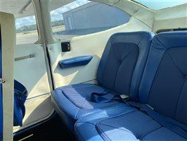 1974 Cessna 182 Aircraft Rear Seats
