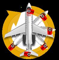 Towbarless Aircraft Tug with 360 technology