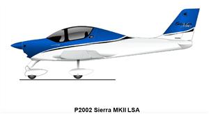 2020 Tecnam P2002 Sierra P2002 Sierra MKII LSA