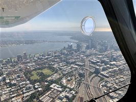Flying over Perth CBD (controlled airspace)