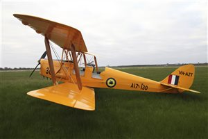 1942 De Havilland Tiger Moth Aircraft