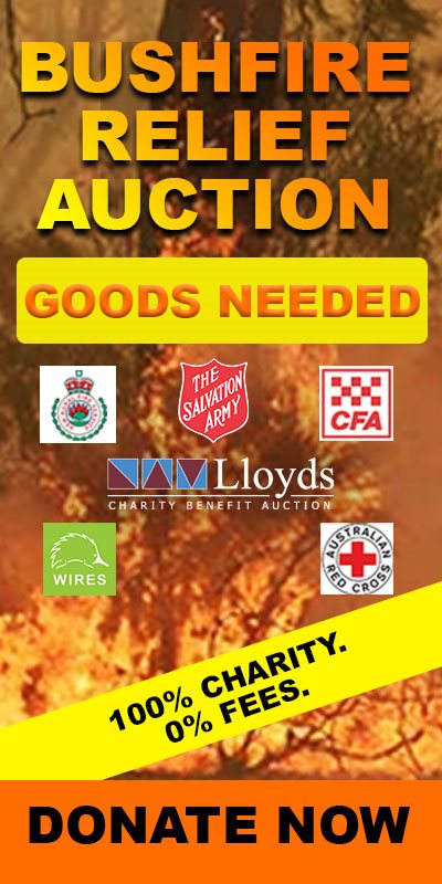 LLoyds Bushfire Auction