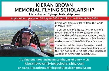 Kieran Brown Scholarship