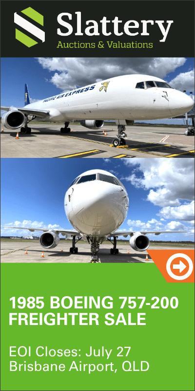 Slattery Boeing 757 Auction
