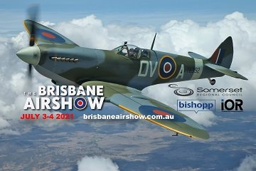 Brisbane airshow small ad left side