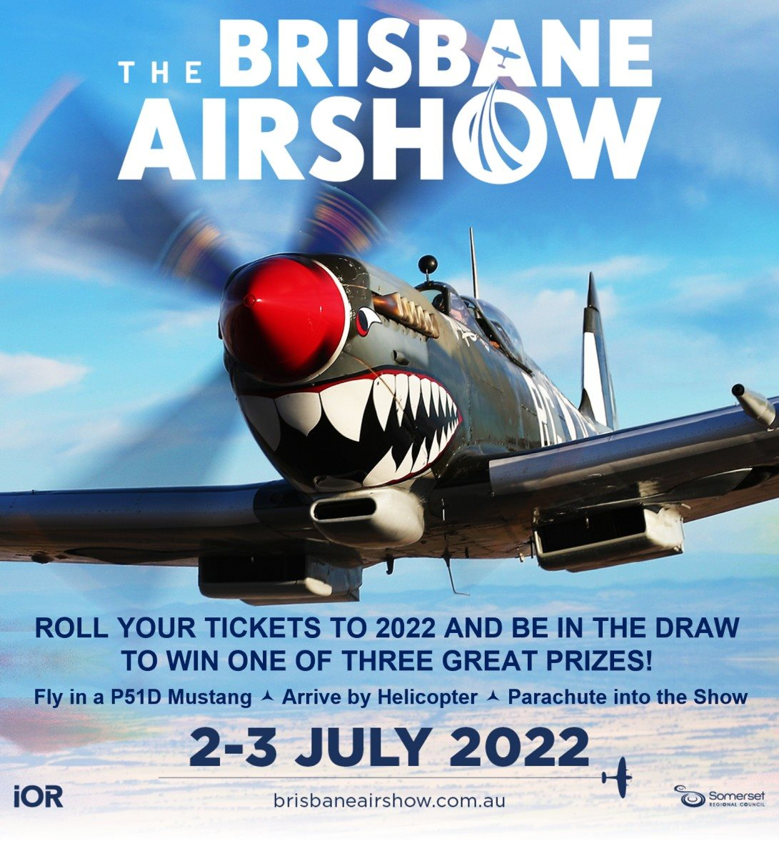 Brisbane Airshow Competition Spitfire Image