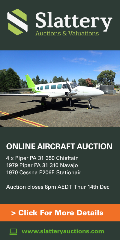 Slattery Online Auction Piper Chieftains Nov - Dec 2017